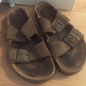 5f78a1778a6 Birkenstock slip on sandals